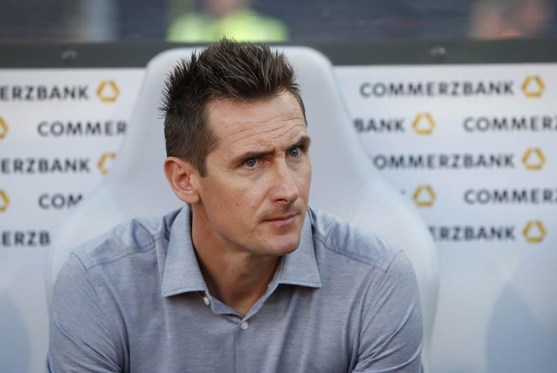 Germany assistant coach Miroslav Klose. Photo: Reuters