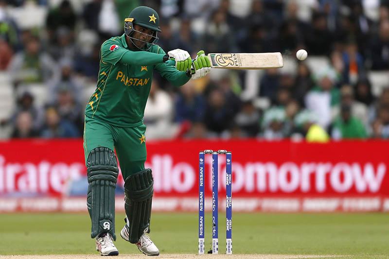 Pakistan's Fakhar Zaman in action. Photo: Reuters