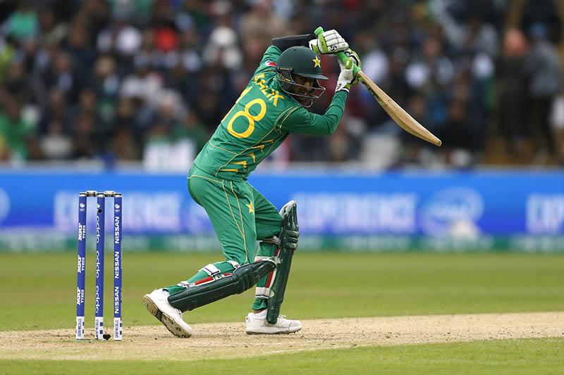 Pakistan's Shoaib Malik in action. Photo: Reuters