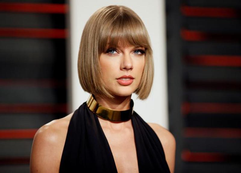 Singer Taylor Swift arrives at the Vanity Fair Oscar Party in Beverly Hills, California, US, on February 28, 2016. Photo: Reuters/ File