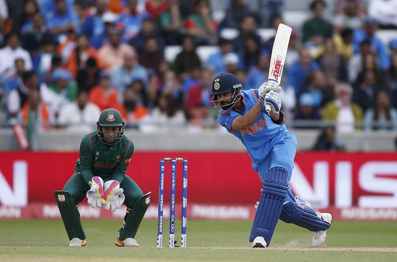 India's Virat Kholi in action. Photo: Reuters