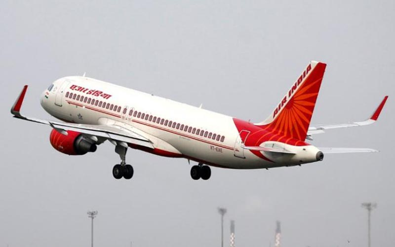 An Air India aircraft takes off from the Sardar Vallabhbhai Patel International Airport in Ahmedabad, India, on July 7, 2017. Photo: Reuters