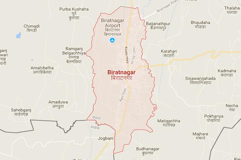 Biratnagar. Source: Google maps