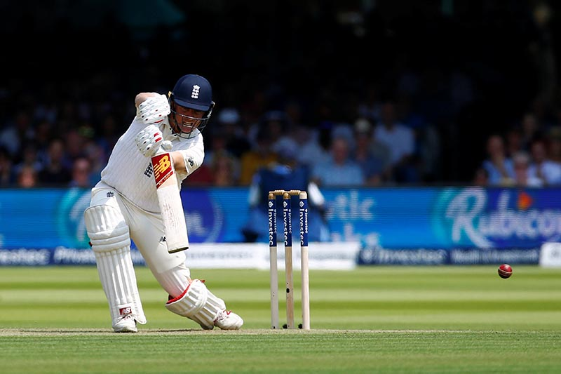 England's Gary Ballance in action. Photo: Reuters