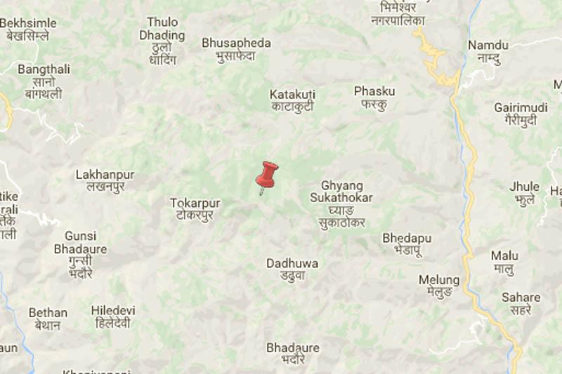 Goshwara, Ramechhap. Source: Google maps