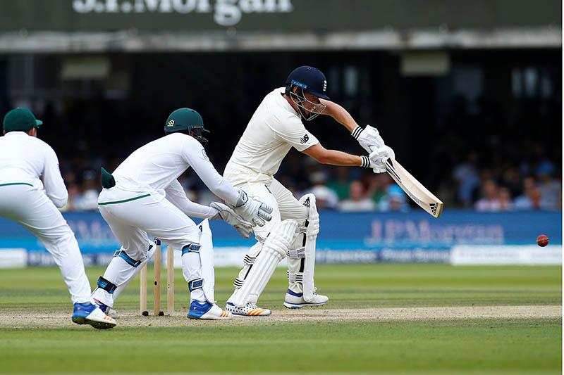 England's Jonny Bairstow in action. Photo: Reuters