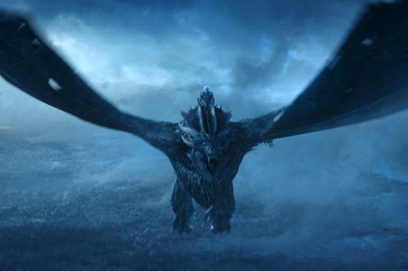 This image released by HBO shows Vladimir Furdik as The Night King on the season finale of u201cGame of Thrones.u201d Photo: HBO via AP