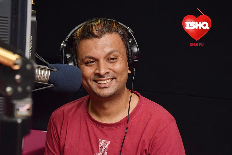 Equal rights campaigner Harish Iyer poses for a picture while hosting Indiau2019s first LGBTQ-themed radio show u2018Gaydiou2019 in this handout picture. Photo: ISHQ 104.8FM via Reuters