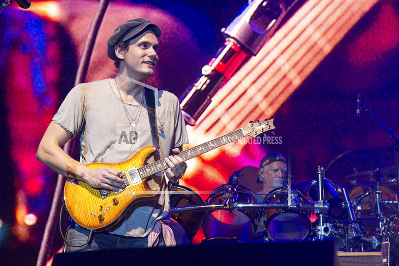 FILE - In this June 12, 2016, file photo, John Mayer of Dead & Company performs at Bonnaroo Music and Arts Festival in Manchester, Tenn. Photo: AP