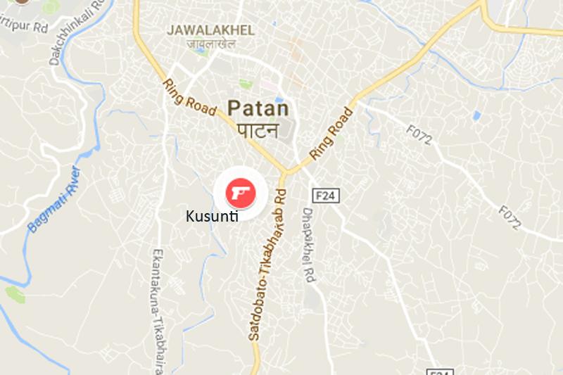 Kusunti, Lalitpur. Source: Google maps