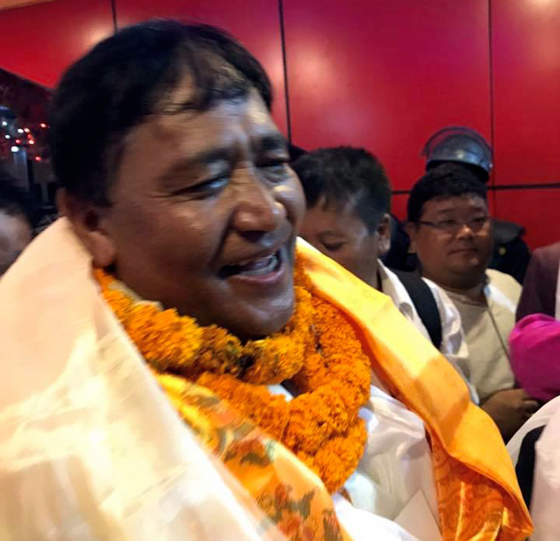 Nepal Mountaineering Association President Santa Bir Lama. Photo: THT Online