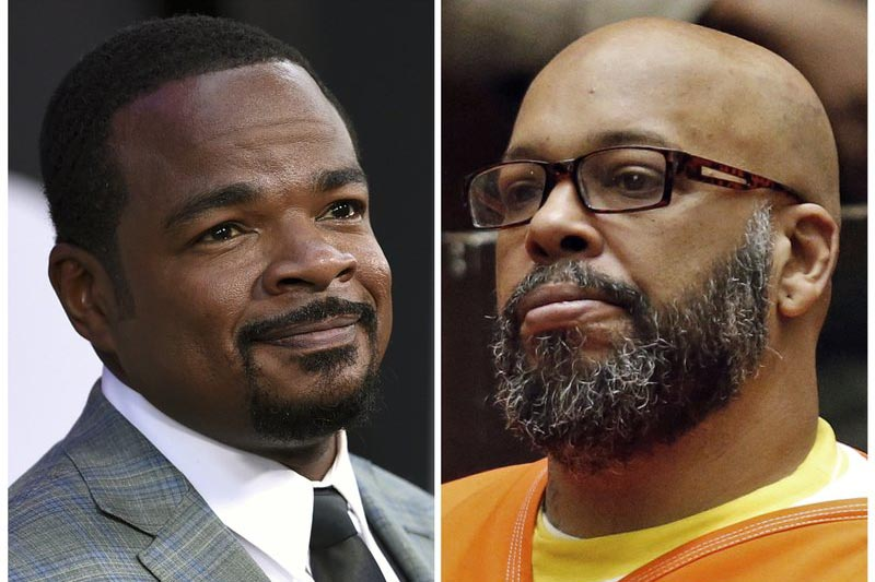 This combination photo shows director F. Gary Gray at u201cThe Fate of the Furiousu201d in New York, on April 8, 2017, (left), and Death Row Records co-founder Marion Hugh u201cSugeu201d Knight in a Los Angeles courtroom, on July 7, 2015. Photo: AP/ Files