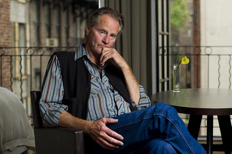 Actor Sam Shepard poses for a portrait in New York, on September 29, 2011. Photo: AP/ File