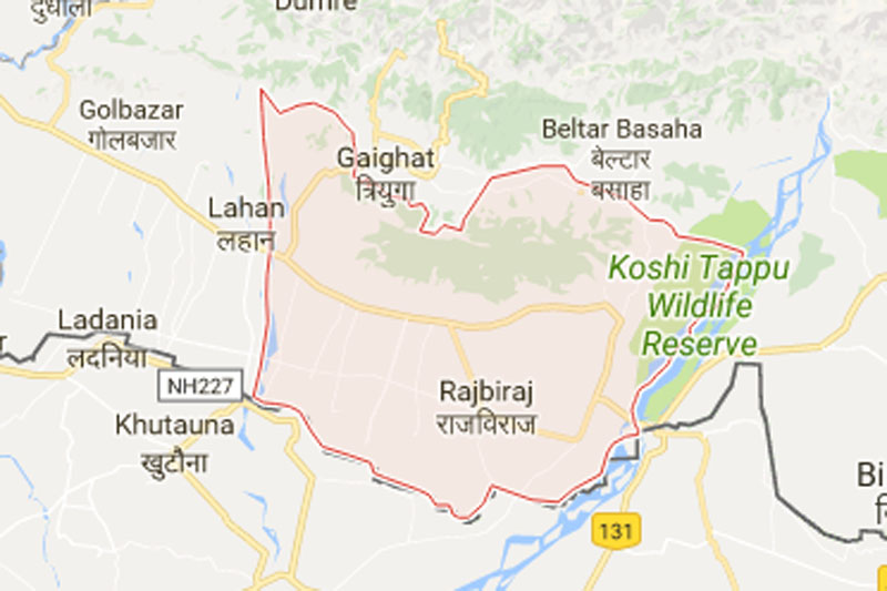 Saptari district. Source: Google maps