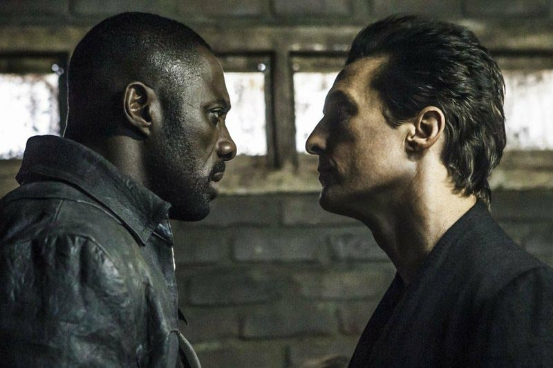 This image released by Sony Pictures shows Idris Elba, (left), and Matthew McConaughey in the Columbia Pictures film, u201cThe Dark Tower.u201d Photo: Ilze Kitshoff/Columbia Pictures/Sony via AP