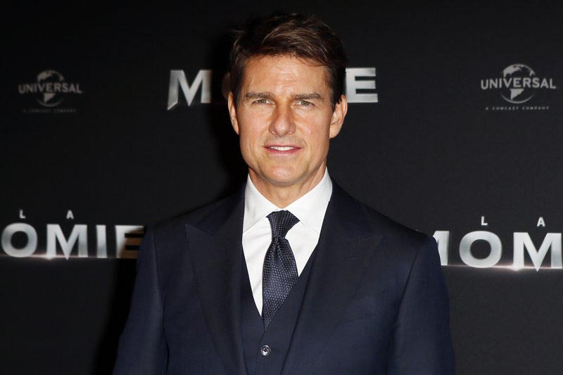 Tom Cruise poses during a photocall for the French premiere of u201cThe Mummyu201d in Paris, France, on Tuesday, May 30, 2017. Photo: AP