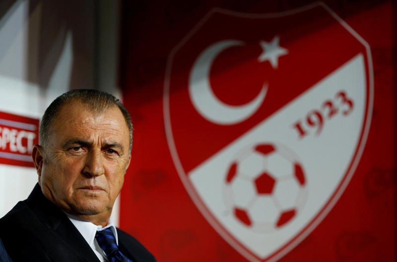 FILE- Football Soccer - Turkey v Ukraine - World Cup 2018 Qualifiers - Metropolitan Stadium, Konya, Turkey. Photo: Reuters