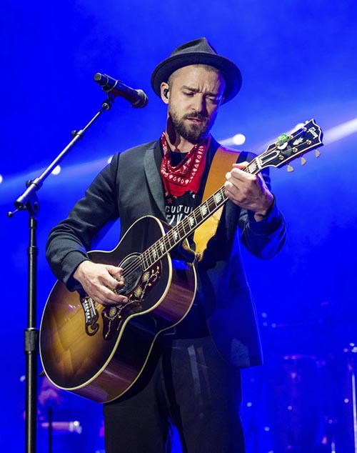 Justin Timberlake performs at the Pilgrimage Music and Cultural Festival, in Franklin, Tennessee, on Saturday, September 23, 2017. Photo: AP