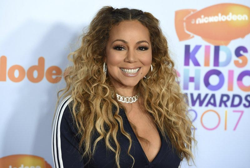 Mariah Carey arrives at the Kidsu2019 Choice Awards at the Galen Center in Los Angeles, on Saturday, March 11, 2017. Photo: AP
