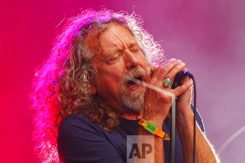 FILE - In this  June 14, 2015, file photo, Robert Plant and The Sensational Space Shifters perform at the Bonnaroo Music and Arts Festival in Manchester, Tenn. Photo: AP
