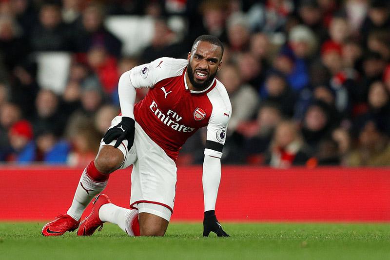 Arsenal's Alexandre Lacazette. Photo: Reuters