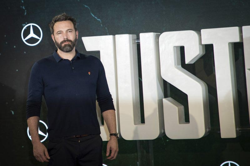 Actor Ben Affleck poses for photographers at a photo call to promote the film u2018Justice Leagueu2019, in London, on Saturday, November 4, 2017. Photo: AP
