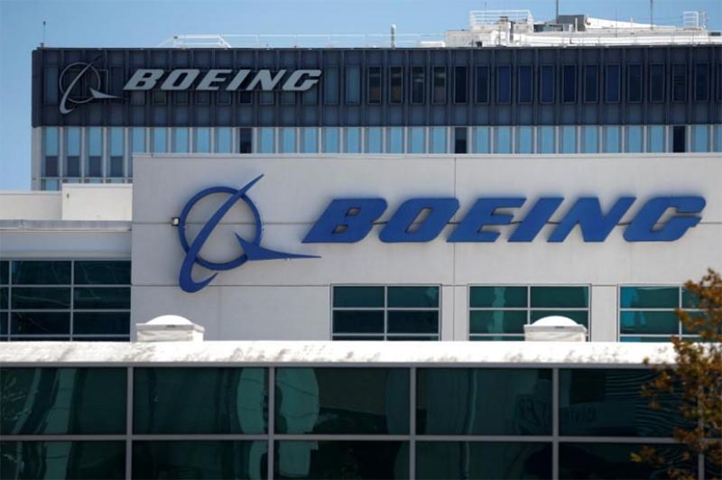 Boeing facilities are seen in Los Angeles, California, US, on April 22, 2016. Photo: Reuters/ File
