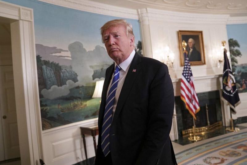 File: Donald Trump. Photo: AP