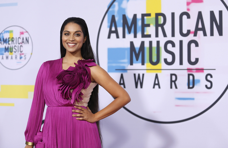 Entertainer Lilly Singh arrivals at 2017 American Music Awards, Los Angeles, California, US, November 20, 2017. Photo: Reuters