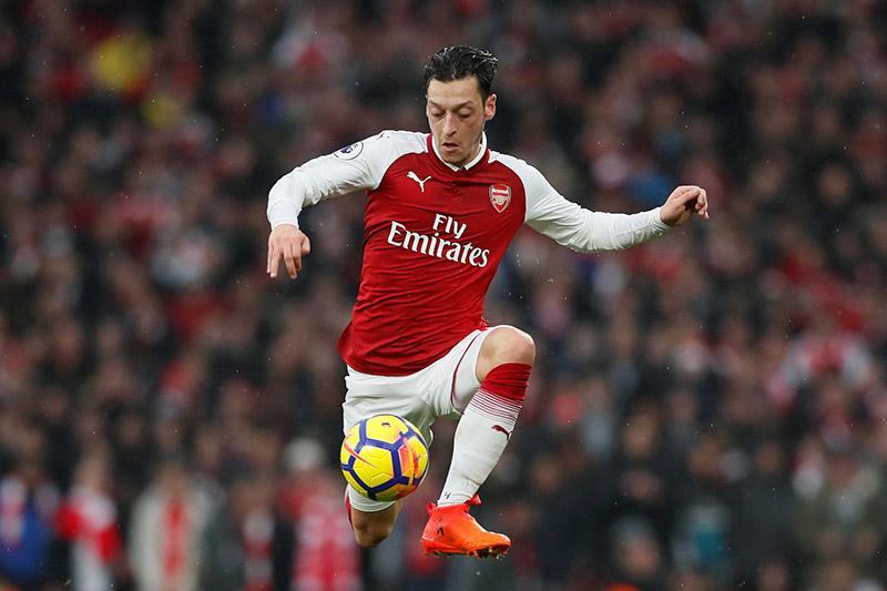 Arsenal's Mesut Ozil. Photo: Reuters