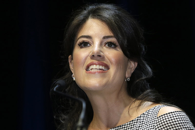 FILE - In this June 25, 2015, file photo, Monica Lewinsky attends the Cannes Lions 2015, International Advertising Festival in Cannes, southern France. Photo: AP
