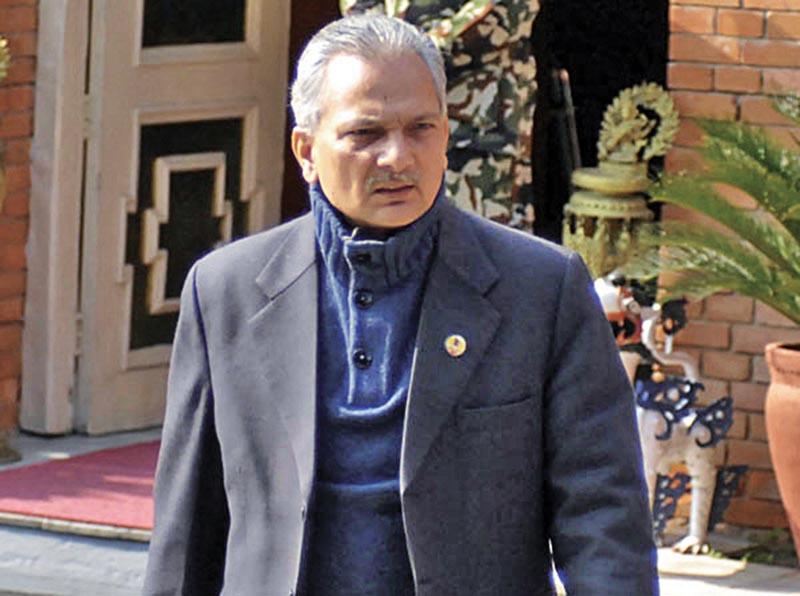 Naya Shakti Party-Nepal Coordinator Baburam Bhattarai . Photo: THT