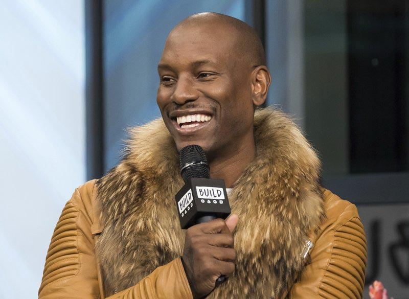 FILE - In this April 6, 2017, file photo, Tyrese Gibson participates in the BUILD Speaker Series to discuss upcoming u201cThe Fate of the Furiousu201d film at AOL Studios in New York. Photo: AP