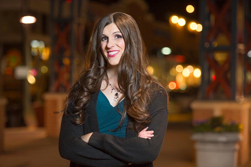 Danica Roem, Democratic candidate for Virginia House of Delegates 13th District, is pictured in Gainesville, Virginia, US on December 30, 2016.  Photo: Courtesy Friends of Danica Roem/Handout via Reuters