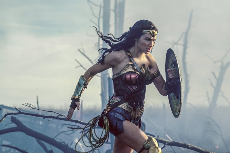 Warner Bros. Entertainment shows Gal Gadot charging through No Manu2019s Land during a WWI battle scene from u201cWonder Woman.u201d After two consecutive record-breaking years at the domestic box office, 2017 was the year the momentum slowed, even with the late adrenaline boost of a new u201cStar Warsu201d film. This is Disneyu2019s second consecutive year at the top of the charts. Warner Bros. placed second with around $2 billion in grosses and 19 percent of the market share, thanks to films like u201cWonder Woman,u201d u201cItu201d and u201cGet Out.