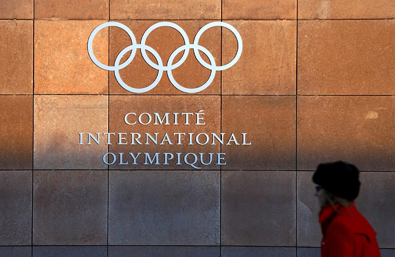 The International Olympic Committee (IOC) headquarters is pictured on the day of an Executive Board meeting on sanctions for Russian athletes in Lausanne, Switzerland, on December 5, 2017. Photo: Reuters