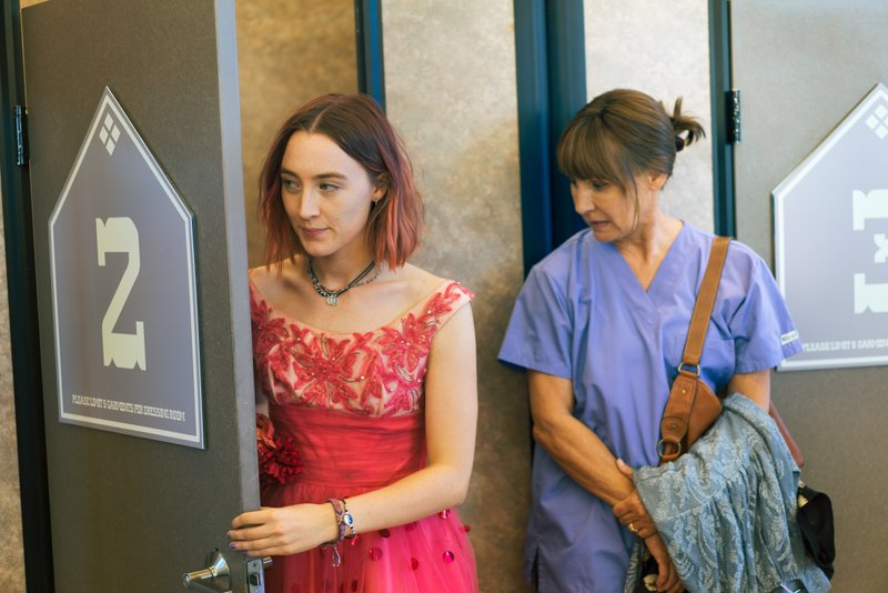 Saoirse Ronan, left, and Laurie Metcalf in a scene from u201cLady Bird.u201d Ronan says she hopes that her latest film u201cLady Birdu201d helps people to feel understood in the same way HBO show u201cGirlsu201d helped her. Her performance has earned her some of the best reviews of her career and could result in a third Oscar nomination for the 23-year-old Irish actress. Photo: AP