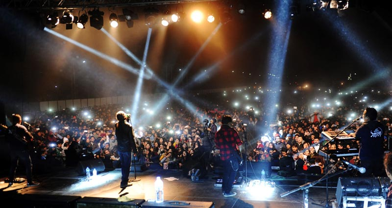 Nepathya performing in Narayanghat -Photo - Sudhira Shah.jpg