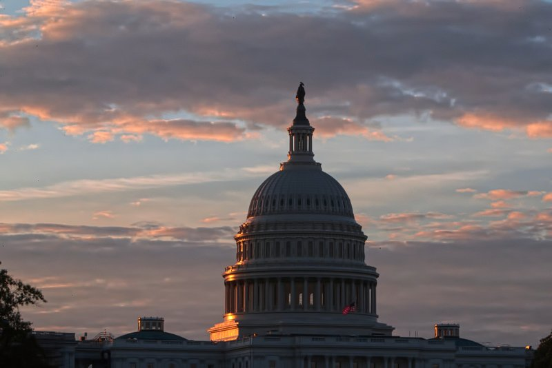 The US Capitol in Washington, at sunrise. Thereu2019ll be two new faces in the Senate and plenty of familiar but stubborn problems facing Congress in 2018, starting with a January 19 deadline to reach a bipartisan budget pact and avert a partial government shutdown