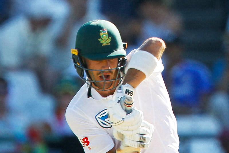 South Africa's Aiden Markram plays a shot. Photo: Reuters