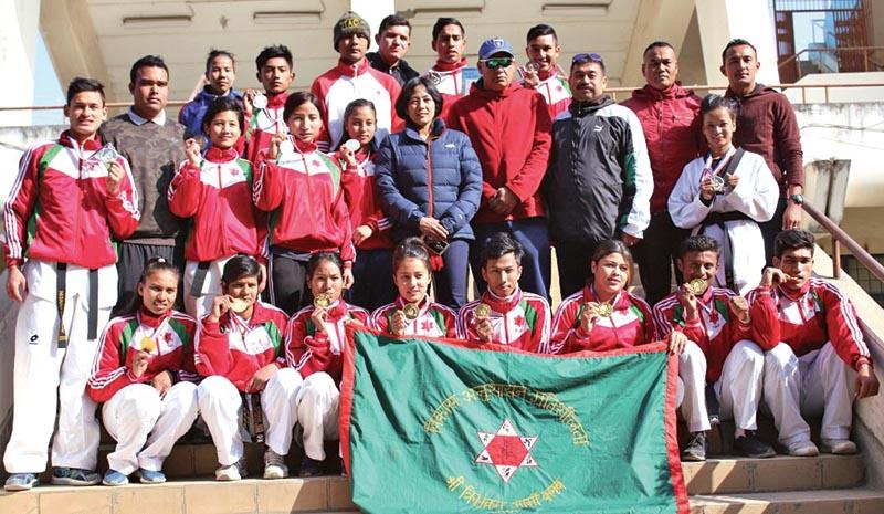 TAC team after National Taekwondo Tournament. Photo: THT