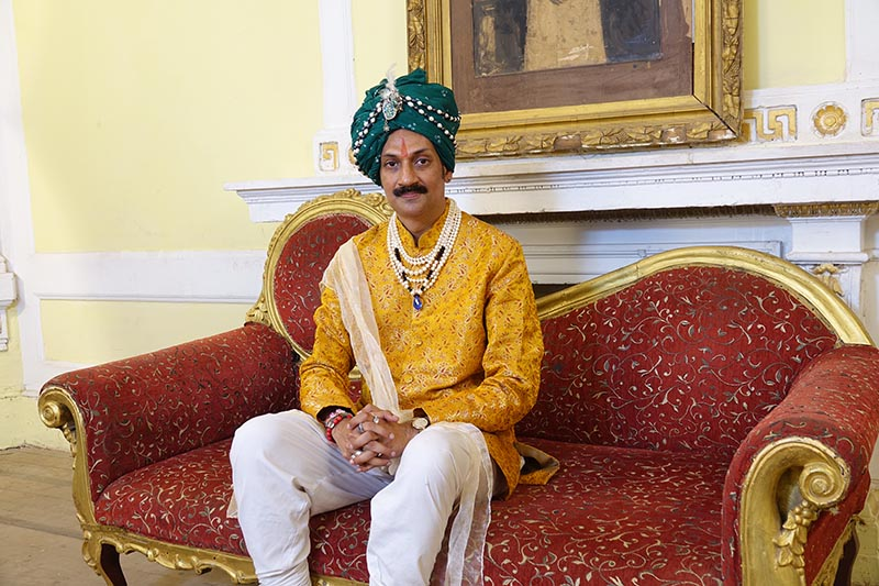 Prince Manvendra Singh Gohil, India's only openly gay prince, is throwing open his palace to vulnerable people of the LGBT community in his home state of Gujarat, India. Picture courtesy: Manvendra Singh Gohil