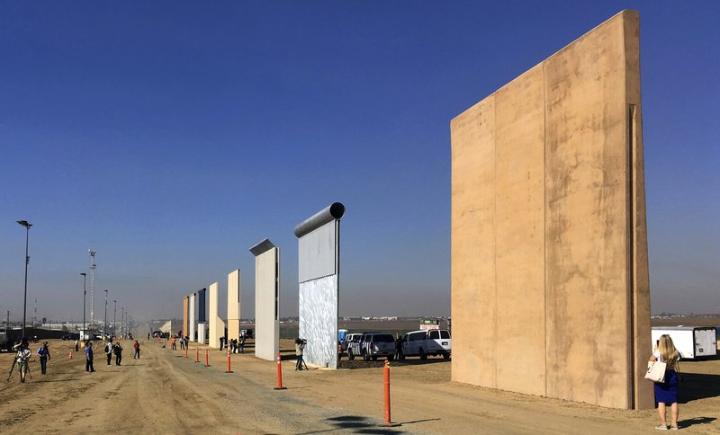 A federal judge in San Diego who was taunted by Donald Trump during the presidential campaign has sided with the president on a challenge to building a border wall with Mexico. U.S. District Judge Gonzalo Curiel on Tuesday, Feb. 27, 2018 rejected arguments by the state of California and advocacy groups that the administration overreached by waiving laws requiring environmental and other reviews before construction could begin. Photo: AP