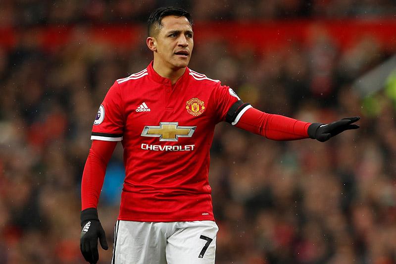 Manchester Unitedu2019s Alexis Sanchez. Photo: Reuters