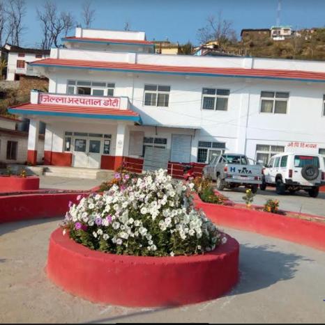 Doti District Hospital Photo: Tekendra Deuba