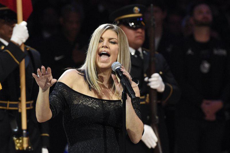 File photo of Fergie. Courtesy: AP