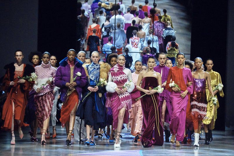 File - The Prabal Gurung collection is modeled during Fashion Week in New York, Sunday, on Feb. 11, 2018. Photo: AP