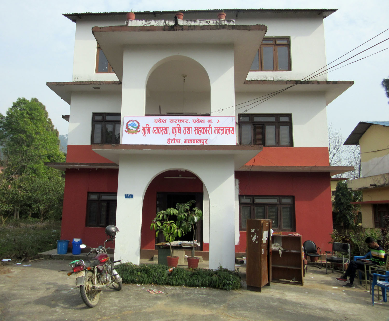 After the commencement of Provincial Assembly, Ministries have come into operation in Province 3 headquarters, Hetauda. Photo: Anjali Thapa/RSS
