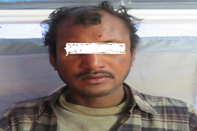 This image shows murder suspect Prem Khadka alias Rajan Katuwal. Photo courtesy: MCD