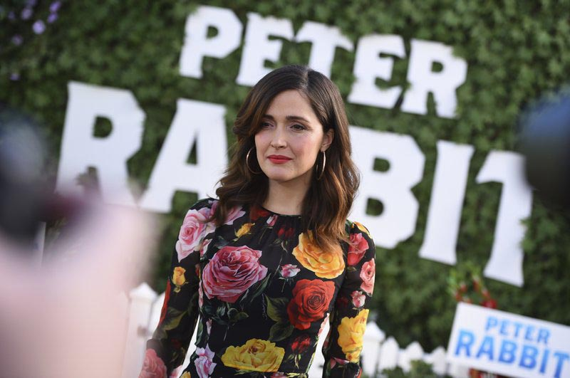 File - Rose Byrne attends the u0093Peter Rabbitu0094 photo call at the London Hotel on Friday, on Feb. 2, 2018 in West Hollywood, Calif. Photo: AP